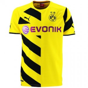 best sneakers 674a6 a1691 Borussia Dortmund Kits | BVB Home Shirt 2014 - 2015
