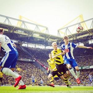 Borussia Dortmund V Hertha Berlin 09052015