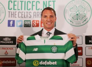 Brendan Rodgers Matches John Steins Record Celtic Manager