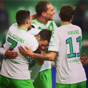 Bundesliga Title Race 2015/16 Wolfsburg