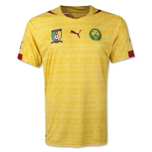 Cameroon World Cup Away Shirt 2014