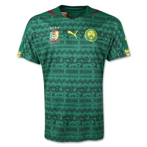 Cameroon World Cup Home Jersey 2014