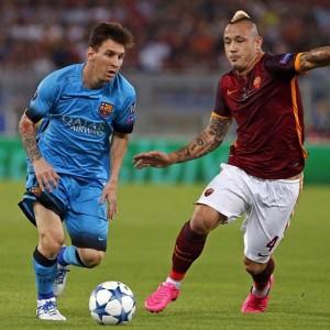 Champions League 2015 - 2016 Group E Barca Roma