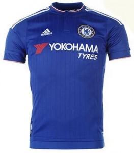 Chelsea Home Shirt 2015 - 2016