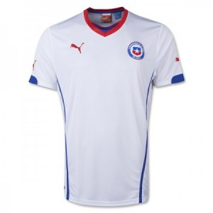 Chile 2014 FIFA World Cup Away Shirt
