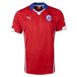 Chile FIFA World Cup Home Jersey 2014