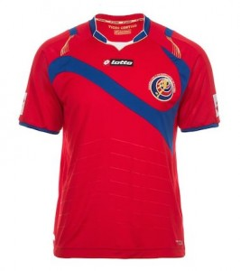 Costa Rica 2014 World Cup Home Shirt