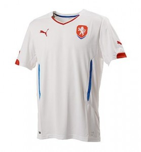 Czech Republic Away Shirt 2014 - 2015