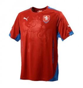 Czech Republic Home Shirt 2014 - 2015