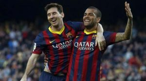 Dani Alves a Pioneer of Right Side Defensive Football Messi