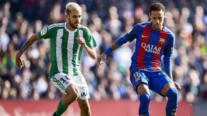 Dani Ceballos Beginning to Shine at Real Betis V Barcelona