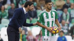 Dani Ceballos Beginning to Shine at Real Betis Victor Sanchez