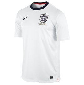 England Home Soccer Jersey 2013 - 2014