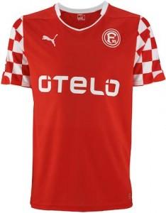 Fortuna Dusseldorf Home Shirt 2014 - 2015