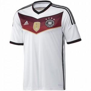 bab6bdd0049 ... Germany Kids 4 Star Home Shirt 2014 - 2015