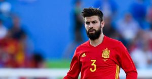 Gerrard Pique Defends On and Off the Football Field Euro 2016