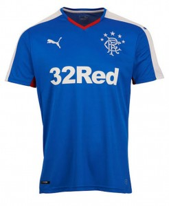 Glasgow Rangers Home Shirt 2015/16