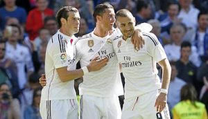 Hazard's Arrival at Real Madrid Would Help Ronaldo Bale Benzema