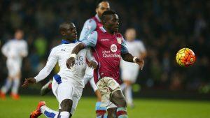 Idrissa Gueye and Everton Aston Villa