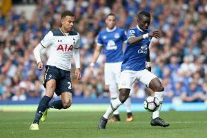 Idrissa Gueye and Everton V Tottenham