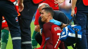 Injury Ronaldo and Messi - Euro 2016 V Copa America