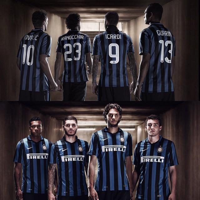 online retailer f0d6d 50e1b Inter Milan Home Kit 2015 - 2016 | Soccer Box