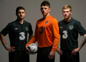 Ireland Away Kits