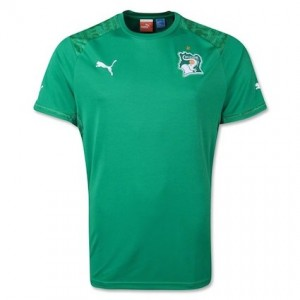Ivory Coast 2014 World Cup Away Shirt