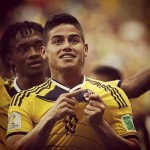 James Rodriguez Colombia Home Shirt 2014/15