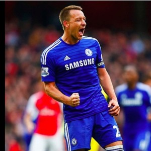 John Terry Premier League History Celebration