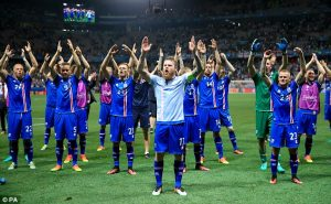 Lighting up the Euros 2016 Iceland the Tournament Underdogs Chant vs England