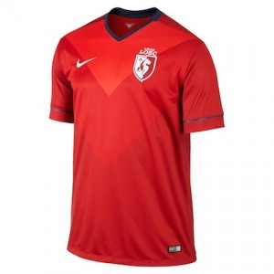 Lille Kids Home Shirt 2014 - 2015