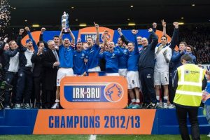 Long Battle for Rangers Pays Off 2012-13