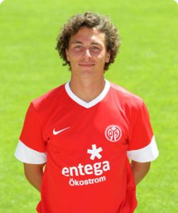Mainz's inspirational captain, Julian Baumgartlinger 2016