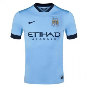 Manchester City Home Shirt 2014 - 2015