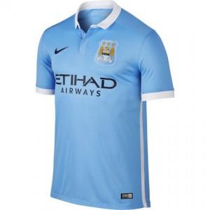 Manchester City Home Shirt 2015 - 2016