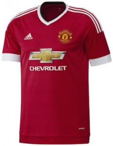 Manchester United Home Shirt 2015 - 2016