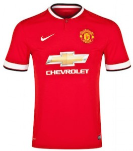 Manchester United Kids Home Shirt 2014 - 2015