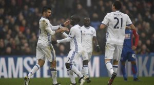 Marcos Alonso Palace V Chelsea 2016