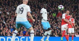 Mesut Ozil Play's a Vital Role at Arsenal Scores V WHUFC
