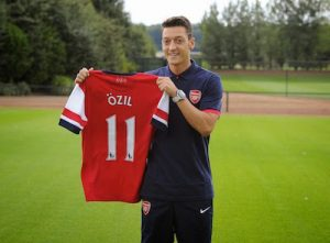 Mesut Ozil Play's a Vital Role at Arsenal Signing