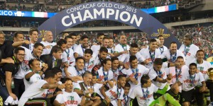Mexico Win CONCACAF Gold Cup 2015 Celebration