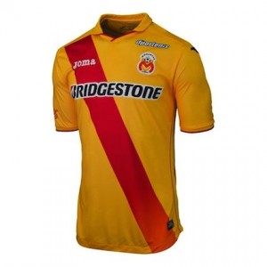 Monarcas Morelia Home Shirt 2014 - 2015