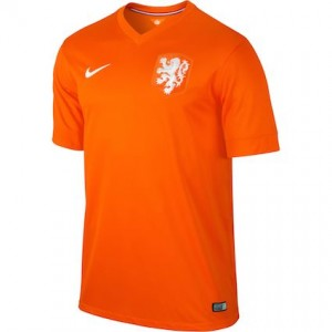 Netherlands 2014 World Cup Home Shirt