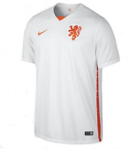 Netherlands Away Shirt 2015 - 2016