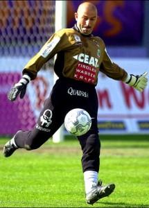 New Legia Warsaw Manager Stanislav Cherchesov Goalie