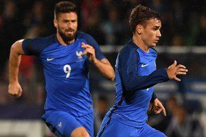 Olivier Giroud Plays on Despite Adversity & Griezmann