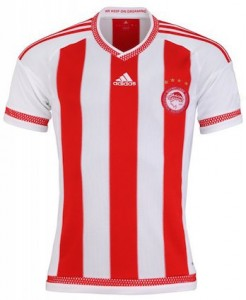 Olympiakos Home Shirt 2015 - 2016