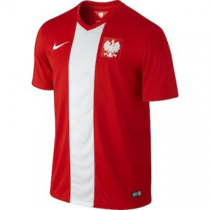 Poland Away Shirt 2014 - 2015