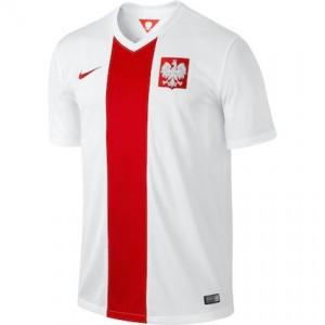 Poland Home Shirt 2014 - 2015